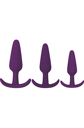 Rump Rockers - Violet, Ergonomic Anal Plug.