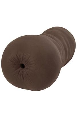 Curvy Crystal - Chocolate, Tight Entry Ass Masturbator.