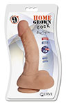 9 Inch Vanilla Dildo With Suction Cup.