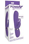 Power Bunnies Thumper 50x Violet, Powerful Dual Motors Vibrator.